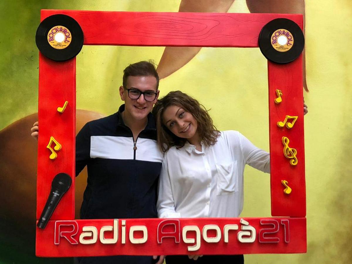 re-maldi con Ele e Dani - Radio agorà 21 Orbassano