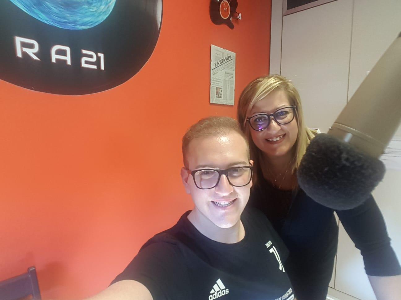 Generazioni a confornto - Daniele e Ivana Radio agorà 21 Orbassano